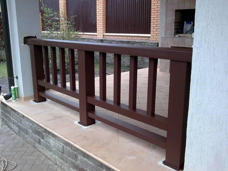 Лестничные ограждения из дерева ремонт и строительство дома.