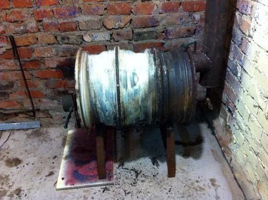 Как сделать печь в баню своими руками из дисков
