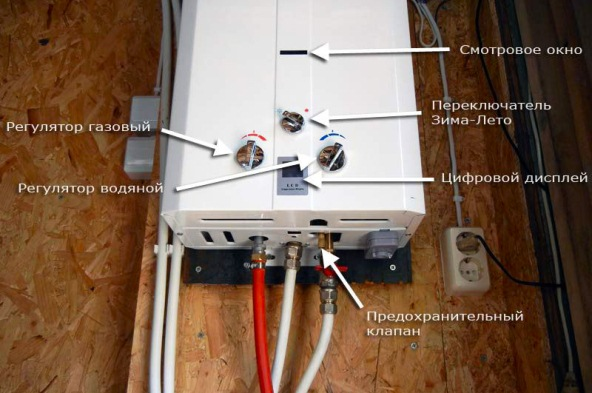 Подключение газового водонагревателя своими руками 45