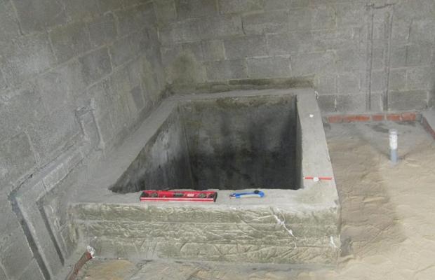 Самодельная ванна из бетона своими руками 84