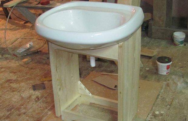 Тумбочку под раковину в ванную своими руками