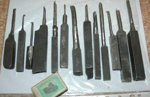 Самодельные токарный резец по металлу 138